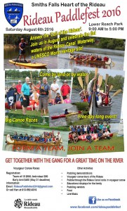 Rideau Paddlefest 2016