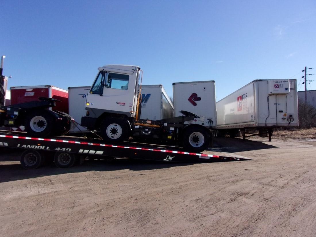 New Shunt Trucks for Wills Transfer, Perth & Brockville Divisions.
